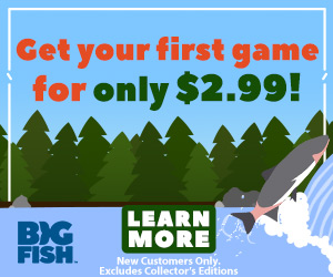 Get your first game for only $2.99 - Big Fish Games