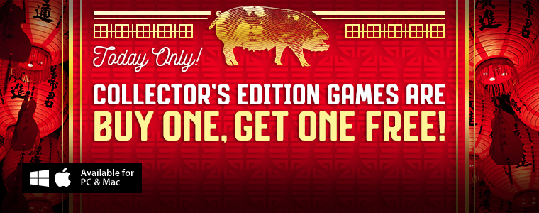 Lunar New Year Sale: Buy One Collector's Edition, Get One Free
