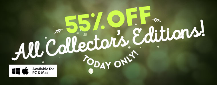 Coupon: 55% Off All Collector's Editions