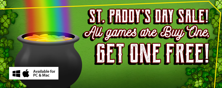 Coupon Codes: St. Patrick's Day Buy One Get One Free