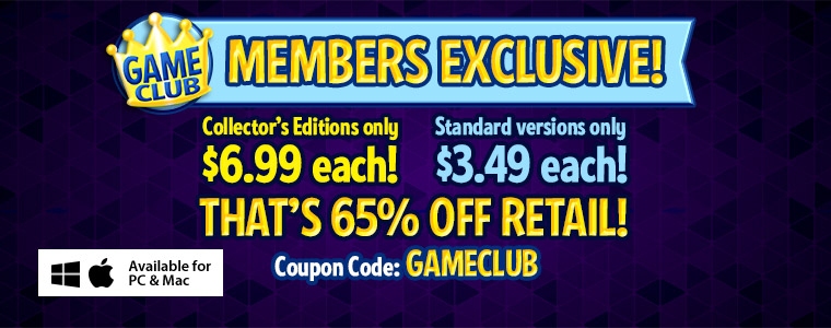 Game Club Coupon: 50% Off All Games