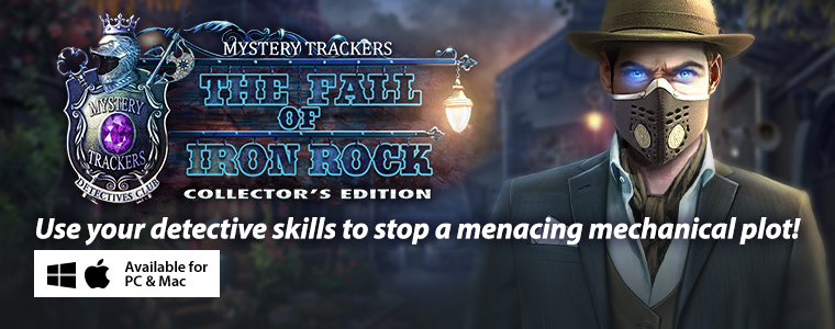 Mystery Trackers 16: The Fall of Iron Rock Special Sale - Half Off Additional Games