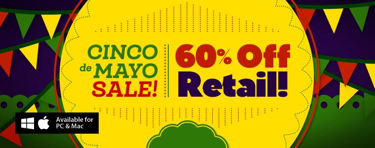 De Cinco Mayo Sale: 60% Off All Games