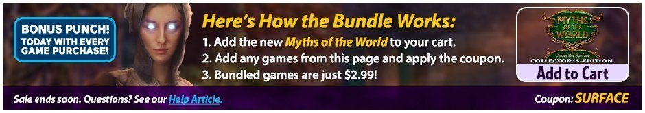 Bundle Sale: Myths of the World: Under the Surface CE