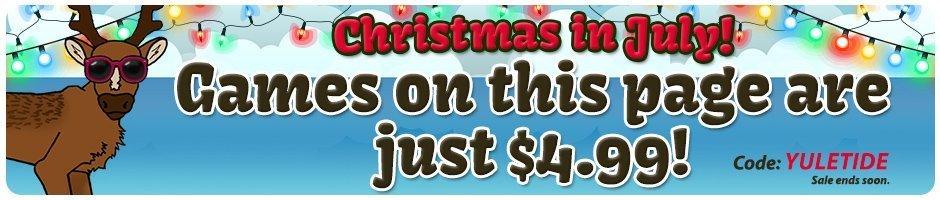 Coupon: Christmas Games $4.99 Each
