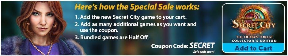 Special Sale: Secret City: The Human Threat CE