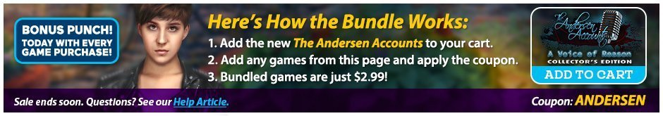 Bundle Sale: The Andersen Accounts: A Voice of Reason CE