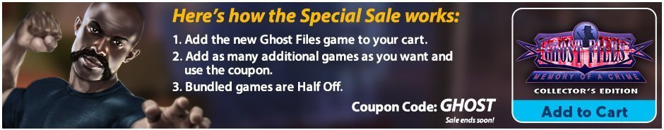Special Sale: Ghost Files: Memory of a Crime CE