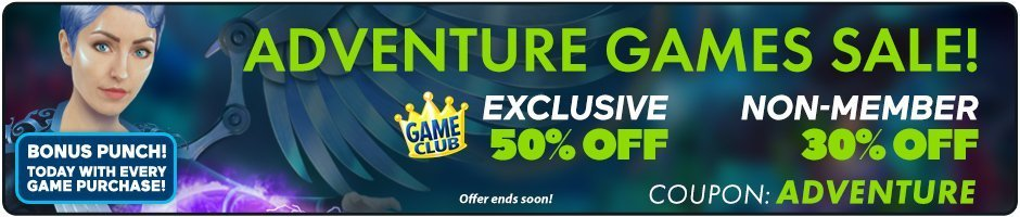 Adventure Games Sale: 50% Off All Games