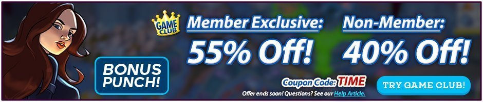Coupon: 55% Off All Games