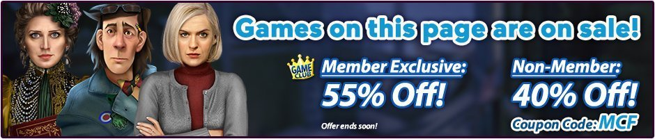 Coupon: 55% Off Mystery Case Files Games
