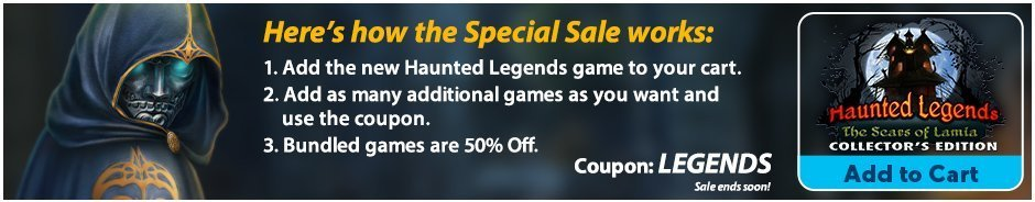 Special Sale: Haunted Legends: The Scars of Lamia  CE
