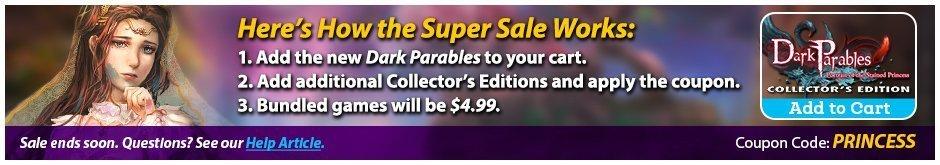 Bonus Sale: Dark Parables: Portrait of the Stained Princess  CE