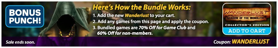 Bundle Sale: Wanderlust: Shadow of the Monolith CE