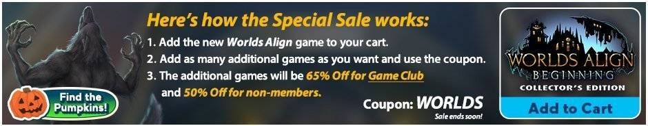 Special Sale: Worlds Align: Beginning  CE