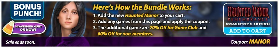 Bundle Sale: Haunted Manor: Remembrance CE