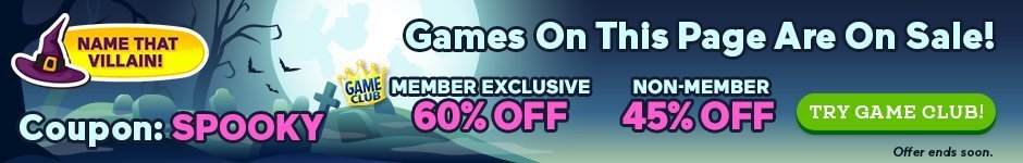 Coupon: 60% Off Spooky Games