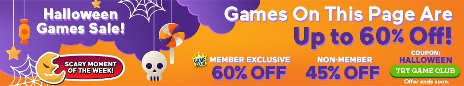 Halloween Games Sale: Up to 60% Off All Games