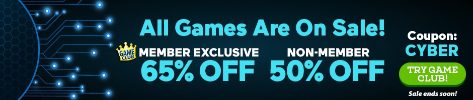 Cyber Monday Sale: Up to 65% Off All Games