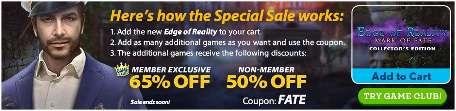 Special Sale: Edge of Reality: Mark of Fate CE