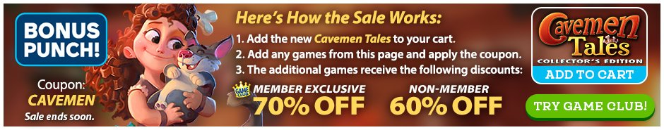 Bundle Sale: Cavemen Tales CE