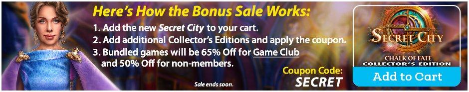 Bonus Sale: Secret City: Chalk of Fate CE