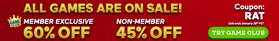 Lunar New Year Sale: Up to 60% Off All Games