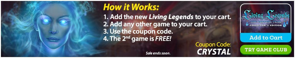 Living Legend Introductory Offer: Buy One, Get One Free