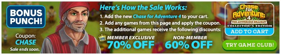 Bundle Sale: Chase for Adventure 4: The Mysterious Bracelet CE