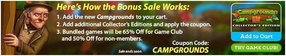 Bonus Sale: Campgrounds IV CE