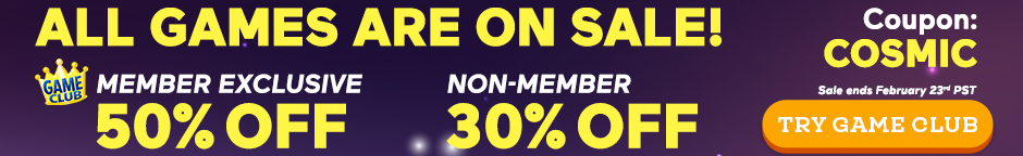 Coupon: Up to 50% Off All Games