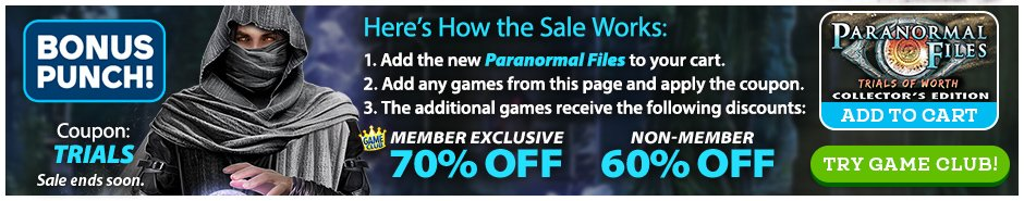 Bundle Sale: Paranormal Files: Trials of Worth CE