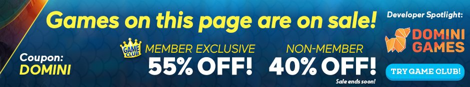 Coupon: 55% Off Domini Games' Games