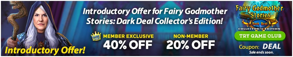 Coupon: Up to 40% Off Fairy Godmother Stories: Dark Deal CE