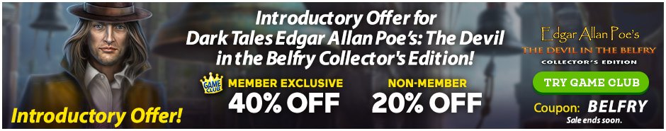 Coupon: Up to 40% Off Dark Tales: Edgar Allan Poe's The Devil in the Belfry CE