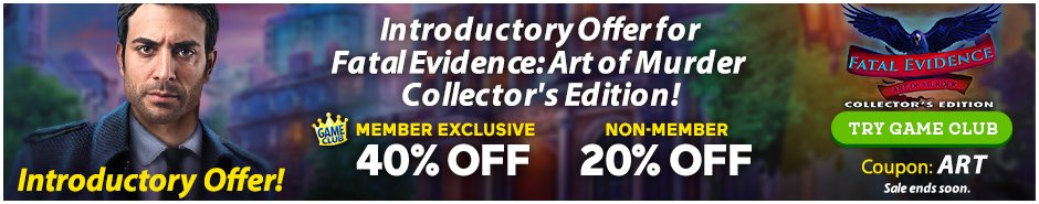 Coupon: Up to 40% Off Fatal Evidence: Art of Murder CE